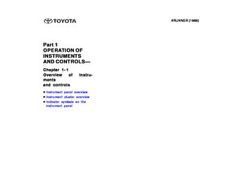 2002 toyota 4runner owners manual online