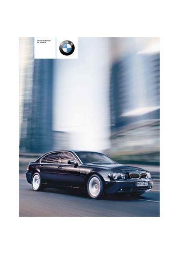 2004 bmw 745i owner s manual pdf 232 pages rh carmanuals2 com 2004 bmw 745li owners manual free download 2004 bmw 745li owners manual download