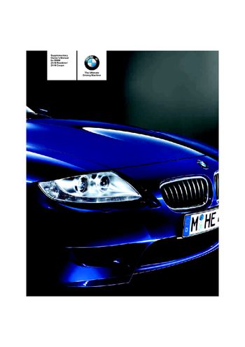2007 bmw z4 m roadster owner s manual pdf 50 pages rh carmanuals2 com 2009 Z4 2003 Z4