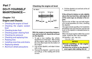 1997 Toyota Land Cruiser - Engine and Chassis - PDF Manual (8 Pages)