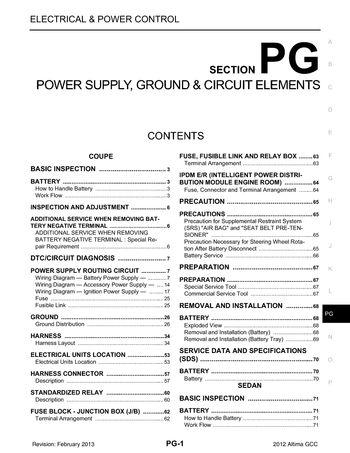 nissan altima wiring schematic 2012 nissan altima power supply  ground   circuit elements  2012 nissan altima power supply
