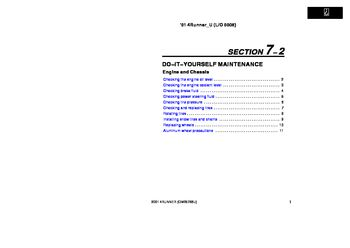 2001 toyota 4runner owner s manual pdf 298 pages rh carmanuals2 com 2004 Toyota 4Runner SR5 1990 Toyota 4Runner SR5