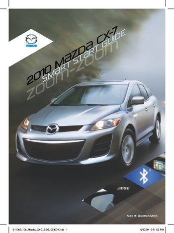 2010 mazda cx 7 smart start guide pdf manual 16 pages rh carmanuals2 com 2013 Mazda 3 2013 Mazda 3