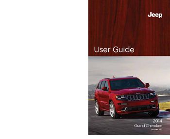 2014 jeep grand cherokee get to know guide pdf manual 220 pages. Black Bedroom Furniture Sets. Home Design Ideas