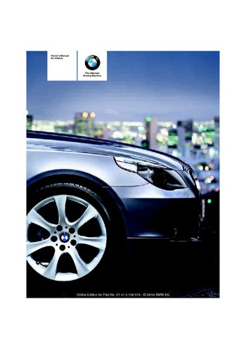 2005 bmw 530i owner s manual pdf 221 pages rh carmanuals2 com 2005 BMW 550I Specs 2005 bmw 530i manual transmission