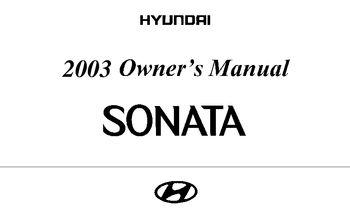 2003 hyundai sonata owner s manual pdf 205 pages rh carmanuals2 com hyundai sonata owners manual 2013 hyundai sonata owners manual 2013