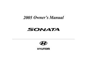 2005 hyundai sonata owner s manual pdf 271 pages rh carmanuals2 com sonata owners manual 2016 sonata owners manual 2014