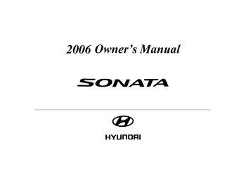 2006 hyundai sonata owner s manual pdf 276 pages rh carmanuals2 com 2006 hyundai sonata manual 2006 hyundai sonata service manual