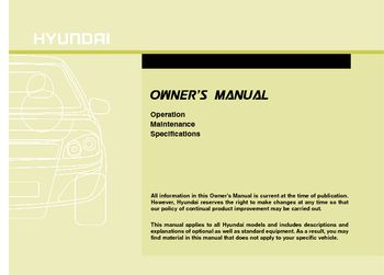 2015 hyundai tucson owners manual pdf