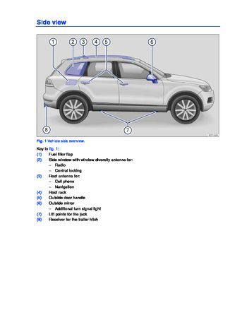 2013 volkswagen touareg owner s manual pdf 440 pages rh carmanuals2 com volkswagen touareg owners manual volkswagen touareg workshop manual