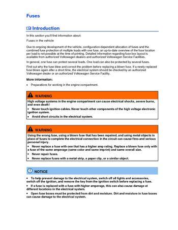 2013 volkswagen beetle fuses pdf manual 3 pages. Black Bedroom Furniture Sets. Home Design Ideas