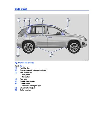 2013 volkswagen tiguan owner s manual pdf 356 pages rh carmanuals2 com volkswagen tiguan owners manual 2014 volkswagen tiguan owners manual 2017