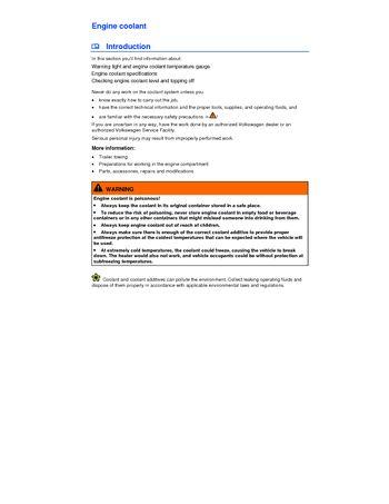 2013 Volkswagen Jetta Gli Engine Coolant Pdf Manual 4 Pages