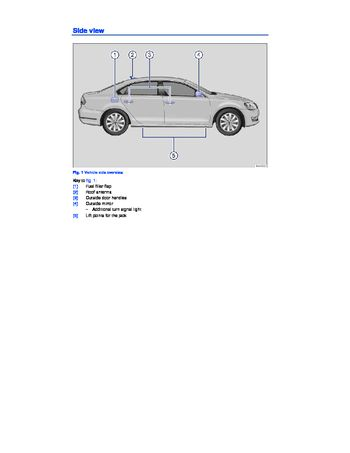 2014 volkswagen passat owner s manual pdf 392 pages rh carmanuals2 com vw passat owners manual pdf vw passat owners manual 2012