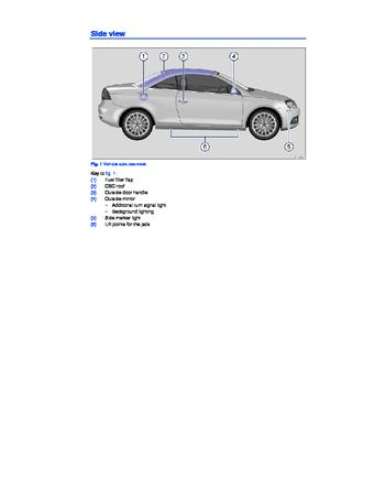 volkswagen eos owners manual   pages