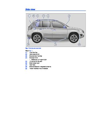 2015 volkswagen tiguan owner s manual pdf 435 pages