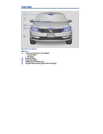 2015 volkswagen passat owner s manual pdf 397 pages rh carmanuals2 com