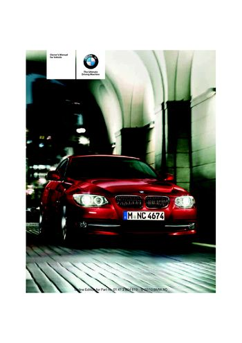 2012 bmw 335i convertible owners manual