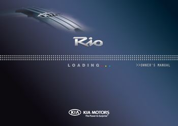 kia rio 2013 user manual pdf