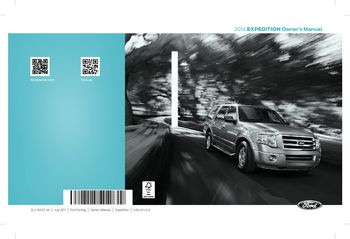 2014 Ford Expedition Owner S Manual Pdf 519 Pages