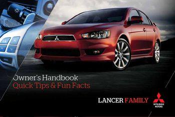 2011 mitsubishi lancer owner s handbook pdf manual 16 pages rh carmanuals2 com 2011 Mitsubishi Lancer ES 2018 Mitsubishi Lancer