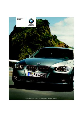 2010 bmw 328i coupe owner s manual pdf 188 pages rh carmanuals2 com 2009 BMW 328I Owner's Manual BMW 328Xi User Manual