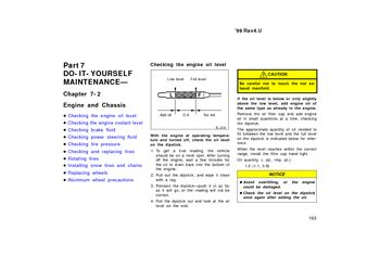 toyota rav engine  chassis  manual  pages