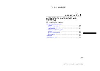 2007 toyota rav4 - air conditioning system (18 pages)
