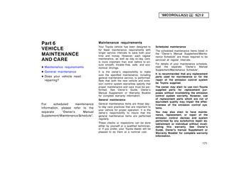 2005 toyota corolla maintenance schedule pdf