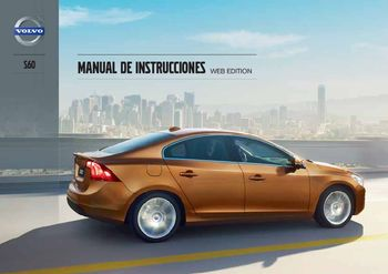 2013 volvo s60 manual del propietario in spanish pdf 432 pages rh carmanuals2 com 2004 Volvo XC90 2017 Volvo XC90