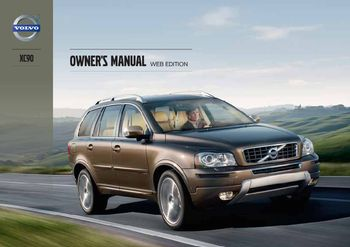 2013 volvo xc90 owner s manual pdf 310 pages rh carmanuals2 com 2014 volvo xc90 owners manual 2013 volvo xc90 owners manual