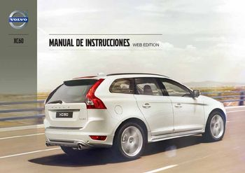 2013 volvo xc60 manual del propietario in spanish pdf 434 pages rh carmanuals2 com Volvo XC40 Volvo XC70