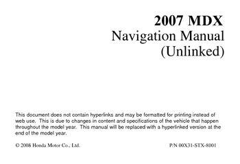 2007 acura mdx navigation manual pdf 166 pages rh carmanuals2 com 2015 mdx navigation manual 2004 mdx navigation manual