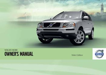 2012 volvo xc90 owner s manual pdf 302 pages rh carmanuals2 com volvo xc90 owners manual 2005 volvo xc90 owner manual on cruise control