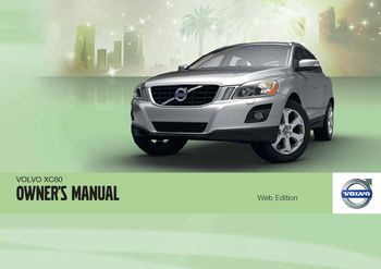 2012 volvo xc60 owner s manual pdf 374 pages rh carmanuals2 com 2013 volvo xc60 owners manual 2013 volvo xc60 owners manual pdf