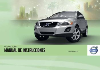 2012 volvo xc60 manual del propietario in spanish pdf 422 pages rh carmanuals2 com manual usuario volvo xc60 2016 Volvo XC40