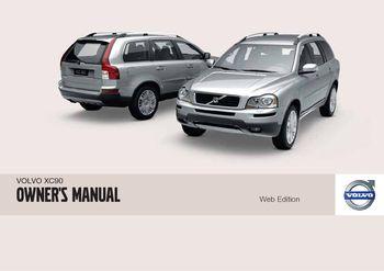 2010 volvo xc90 owner s manual pdf 288 pages rh carmanuals2 com 2018 Volvo XC90 2009 Volvo XC90