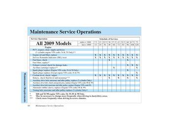 volvo c30 maintenance intervals