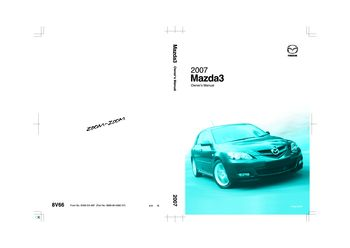 2007 mazda 3 owner s manual pdf 459 pages rh carmanuals2 com mazdaspeed 3 owners manual pdf mazda 3 owners manual 2009