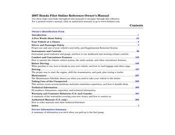2007 honda pilot owner s manual pdf 319 pages rh carmanuals2 com 2010 honda pilot owner manual 2007 honda pilot owners manual
