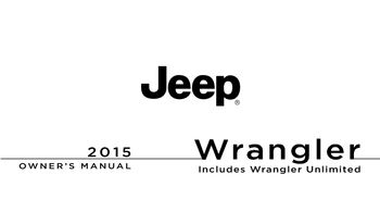 2015 jeep wrangler sport owners manual