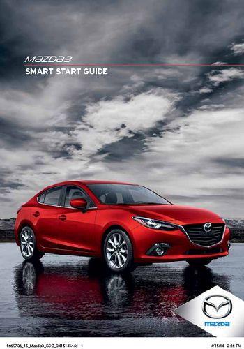 2015 mazda 3 smart start guide pdf manual 46 pages rh carmanuals2 com 2015 mazda cx-5 smart start guide 2017 mazda 6 smart start guide