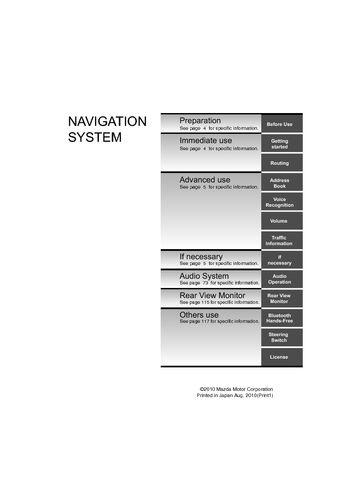 2011 mazda cx 9 navigation manual pdf 140 pages rh carmanuals2 com mazda 6 navigation manual mazda 6 navigation manual pdf