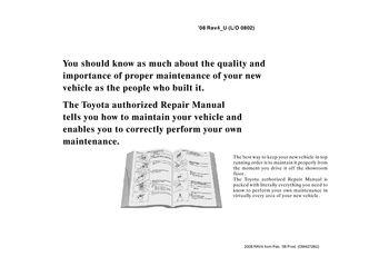 toyota rav4 2008 maintenance manual pdf download. Black Bedroom Furniture Sets. Home Design Ideas
