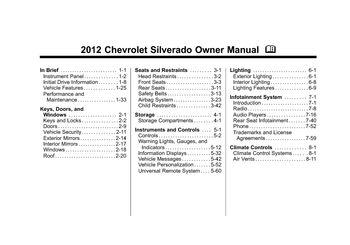 2009 chevy silverado owners manual pdf