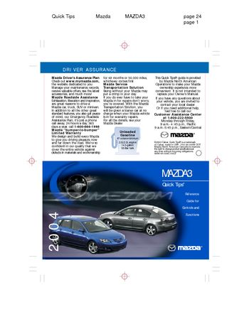 mazda 2 manual pdf download