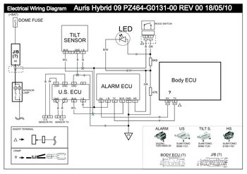 2012 toyota auris - vss1 electrical wiring diagram - pdf ... toyota estima wiring diagram download toyota hybrid wiring diagram #8
