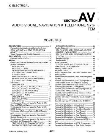 2004 nissan quest audio visual system section av pdf manual 2004 nissan quest audio visual system section av 212 pages asfbconference2016 Images