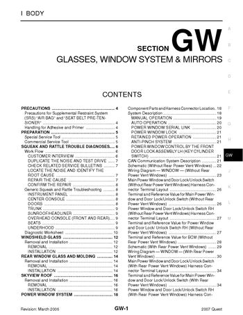 wiring diagram for power rear mirrors with Nissan Quest 2007 Glasses Window System Mirrors Section Gw 44001 on Gmc Topkick 2007 Fuse Box Diagram together with Chap171toc furthermore Jeep Rear Door Schematic also P 0996b43f81b3d17d further Cinfo 1793.