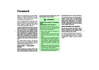 2004 nissan 350z owner s manual pdf 262 pages rh carmanuals2 com 2005 350Z 2005 350Z